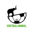 Het logo van Voetbalanimal, bij de domeinnaam te zien is.