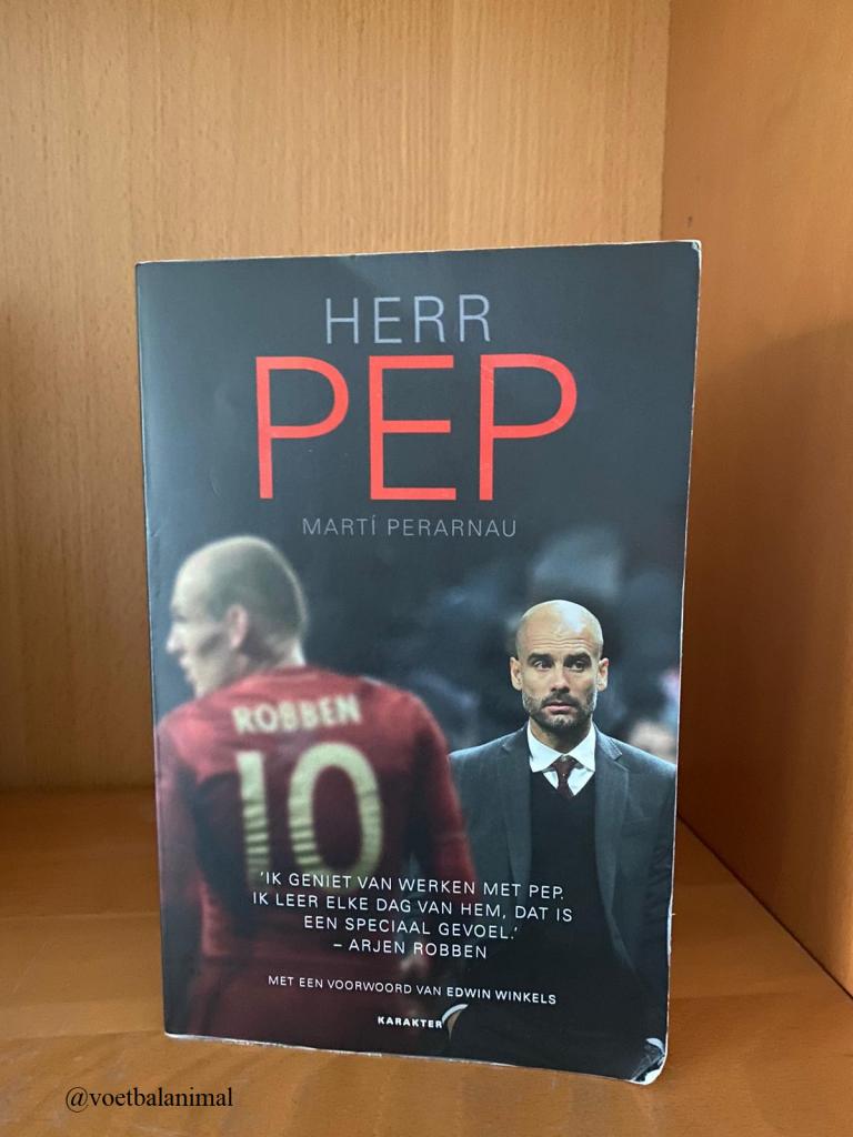 Voetbalboek Herr Pep