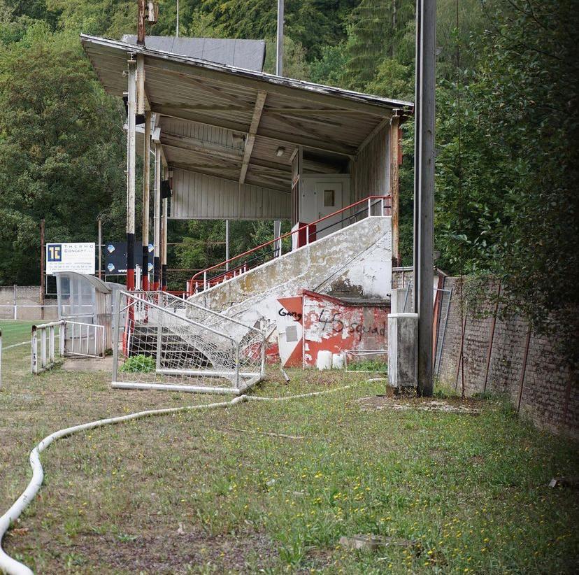 Tribune bij het Stade du Thillenberg