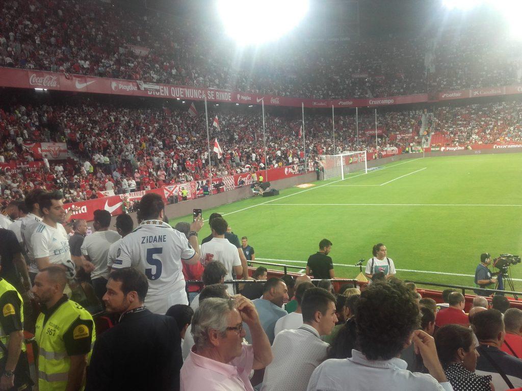 Biris Norte. Harde kern Sevilla FC