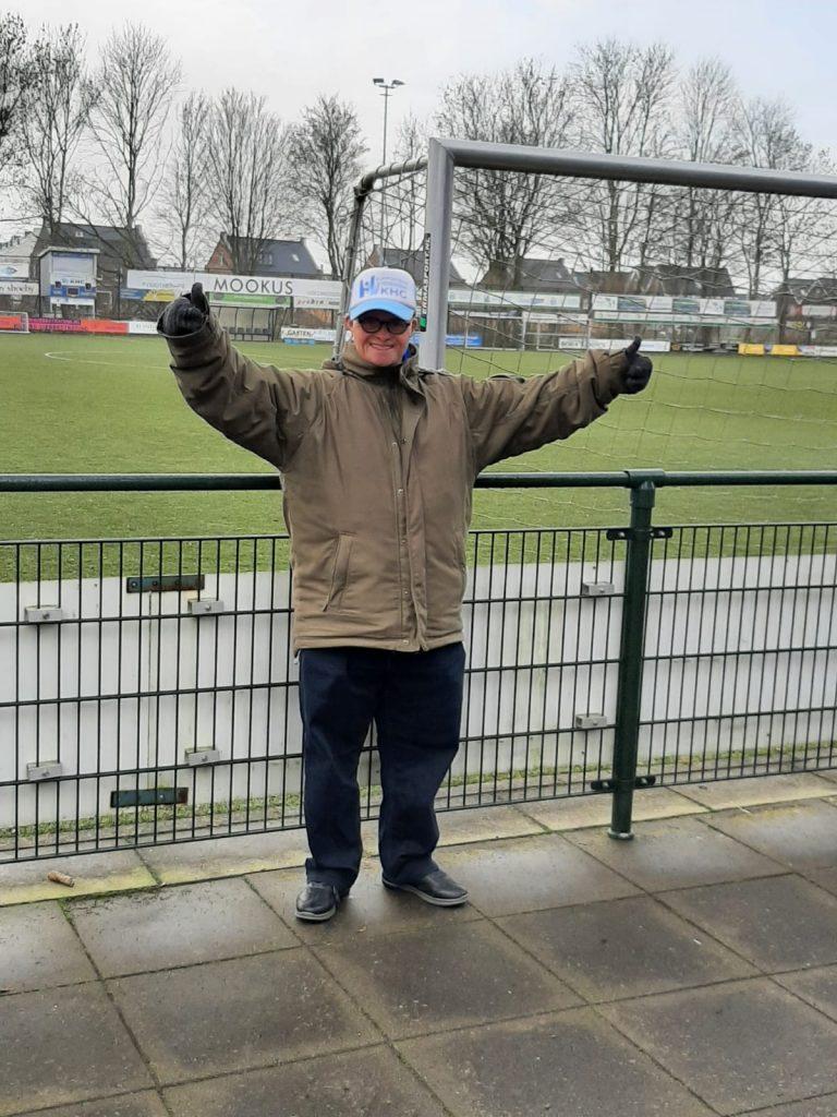 Niek, de grootste supporter van KHC Kampen – Clubliefde