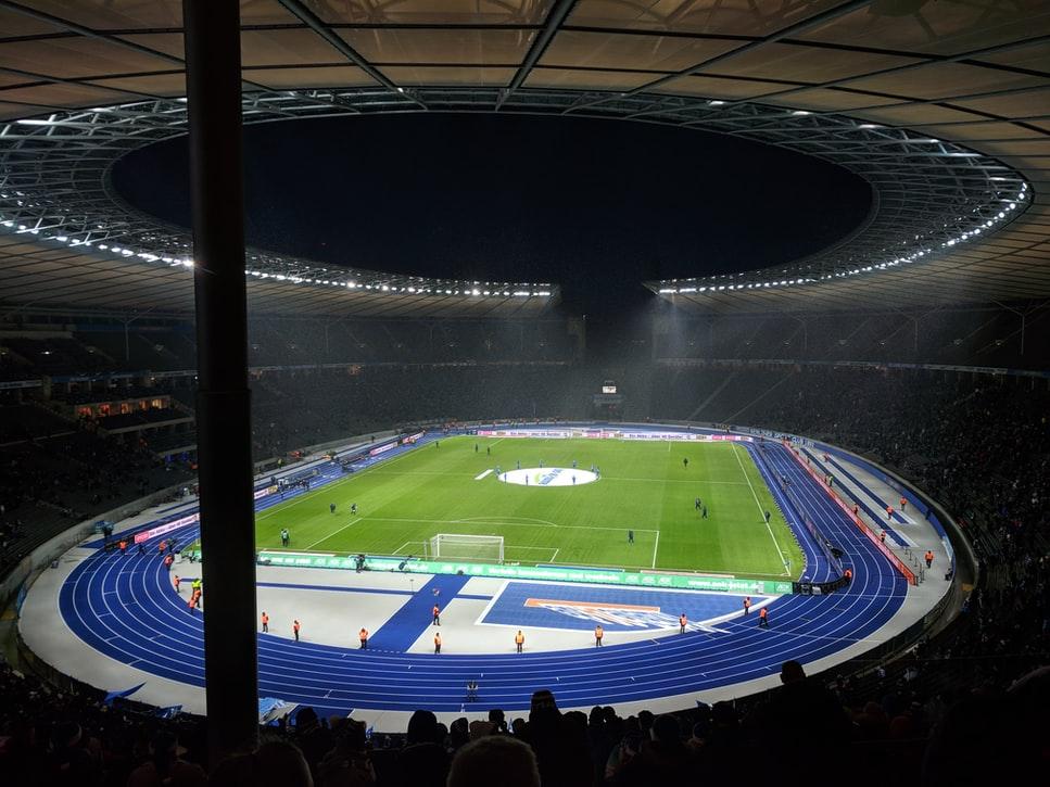 Een vol Olympiastadion