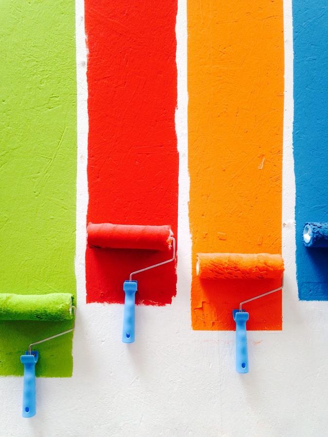 Welke kleuren gebruik je voor een lijst?